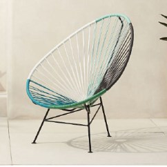 Outdoor Sling Chairs Canada Brown Leather Lounge Chair Acapulco Are A Patio Standout | The Star