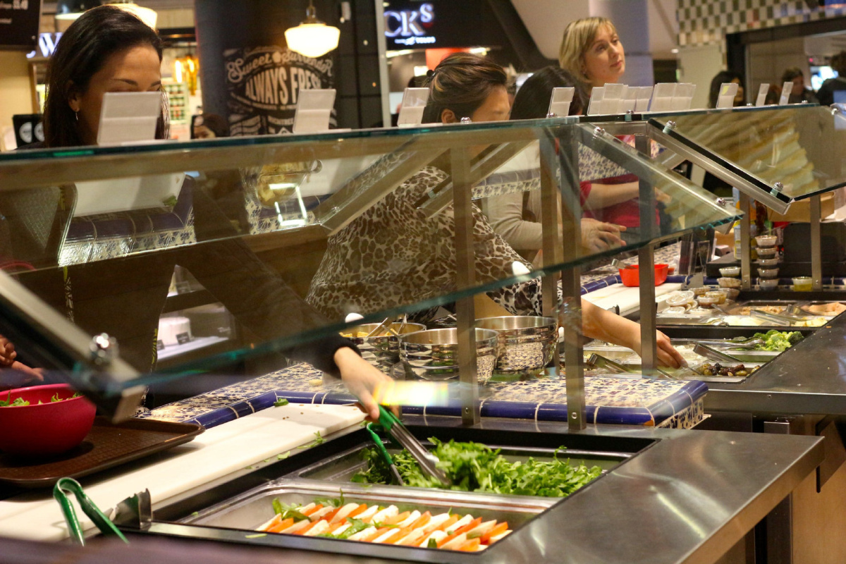 Organic options in Eaton Centres newest food court  The Star