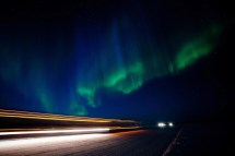 Aurora Hunting In Yellowknife Place