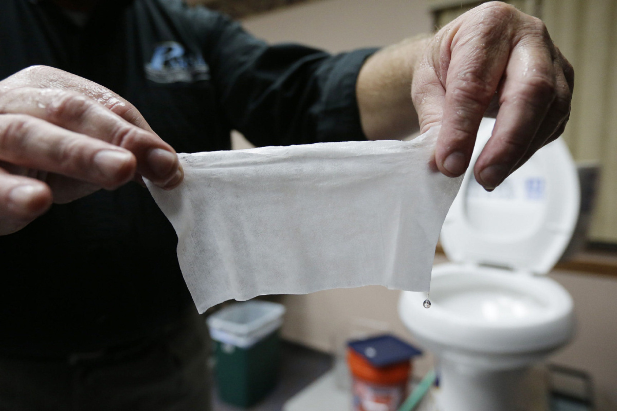 Canada pushes for flushable wipes standard to protect