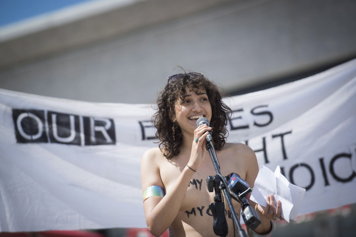 Rally for womens right to go topless  Toronto Star