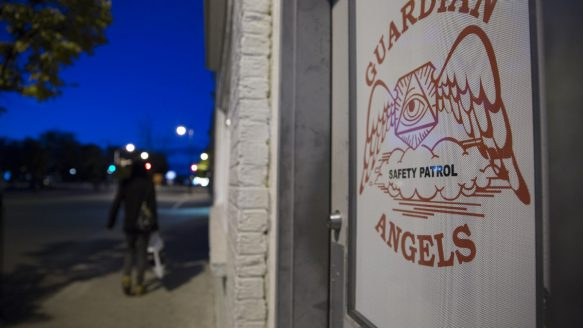 The Thunder Bay headquarters of the Guardian Angels doubles as a gym and a classroom offering courses in life skills and self defence.  One rape. A hate crime. Thunder Bay's simmering divides come to gentle tb guardians office