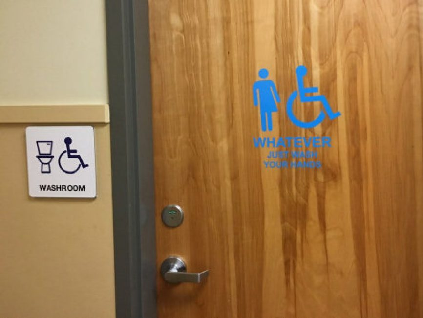 BC schools take on a genderneutral bathroom Whatever Just wash your hands  Toronto Star