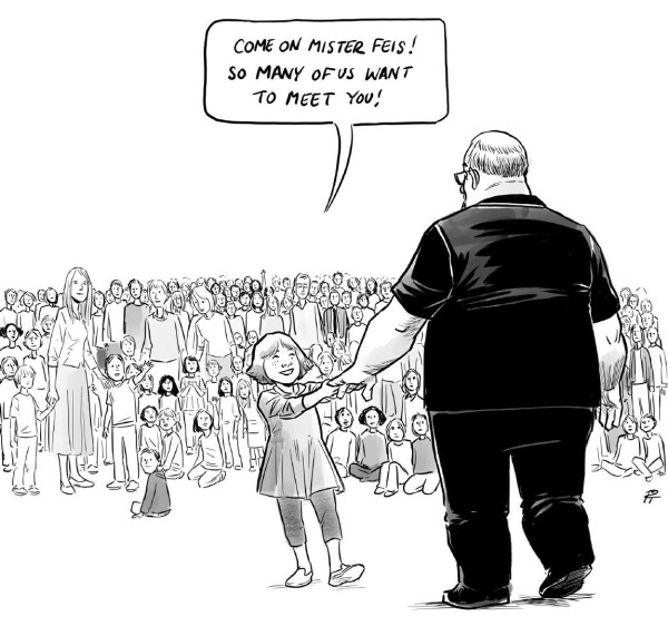 School Shooting Political Cartoon