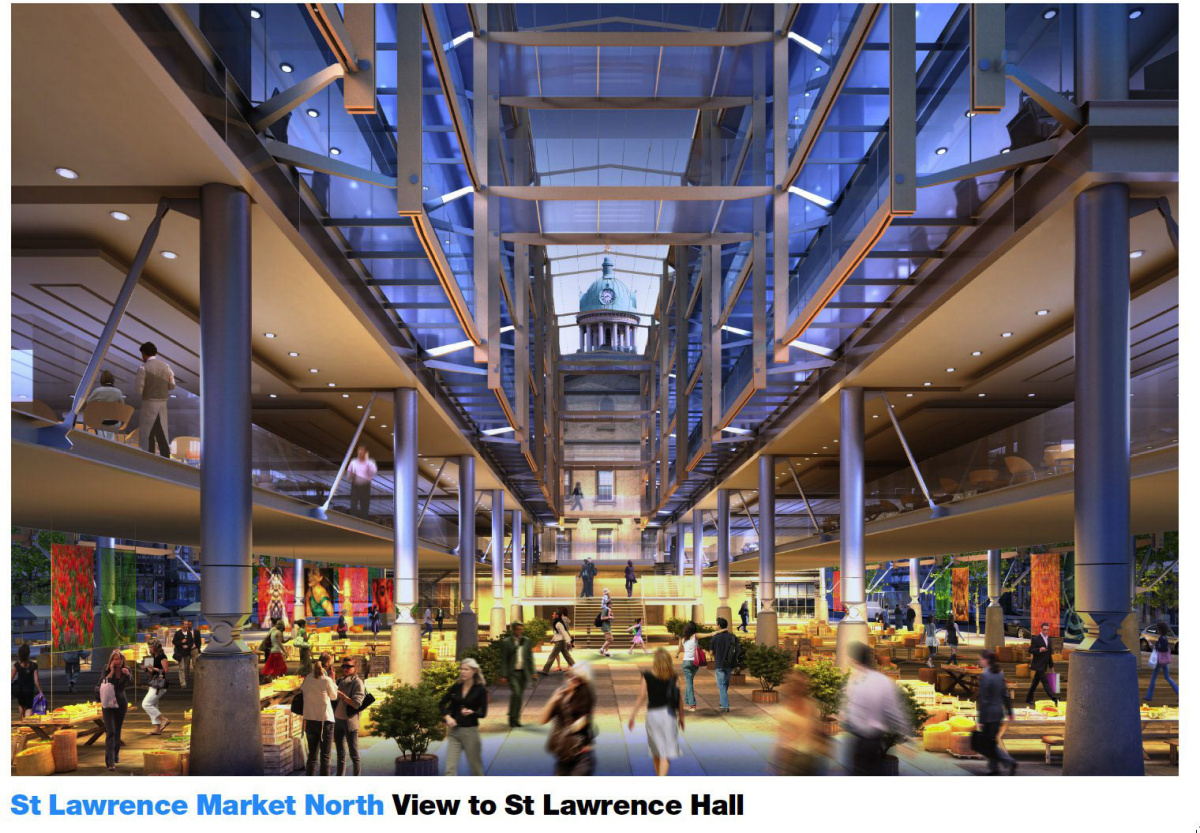 Cost Rises On St Lawrence Market North Courthouse