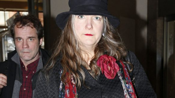 Patricia O'Byrne arrives at College Park court in Toronto for sentencing on April 2, 2013.