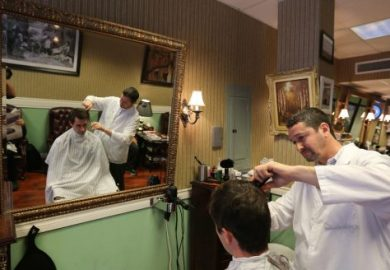 Ladies Barbershop Haircut Stories Picture