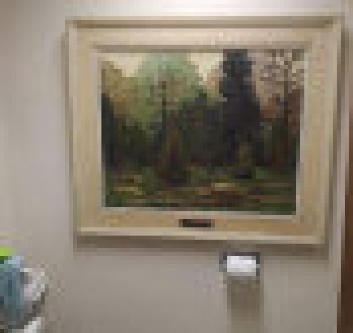 10000 painting kept in school principals washroom while