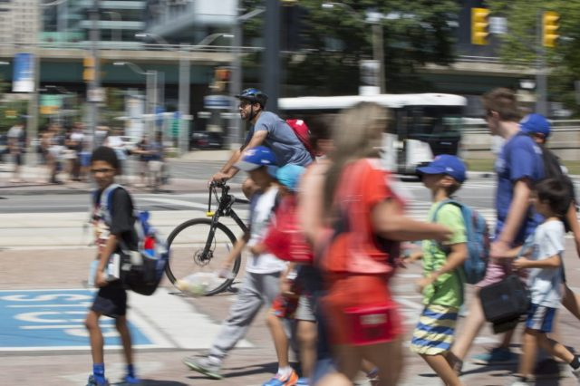 In recent years cyclists and pedestrians have been clamouring for more space for themselves on Toronto's streets.