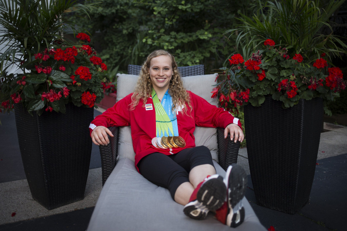 Stars of the Pan Am Games Canadian gymnast Ellie Black