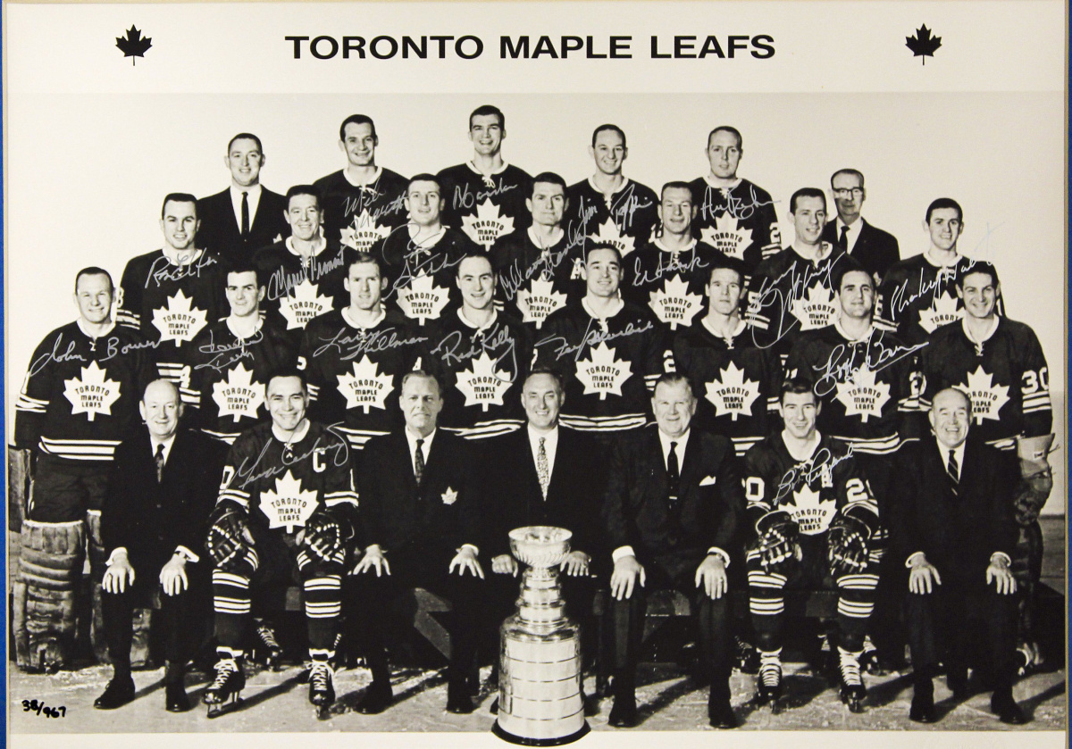 Maple Leafs New eRead connects 1967 team with todays