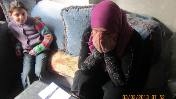 Um Majed, 28. is a Syrian refugee, who doesn't want her real name published because of her shame about what she does for a living: procuring young brides,