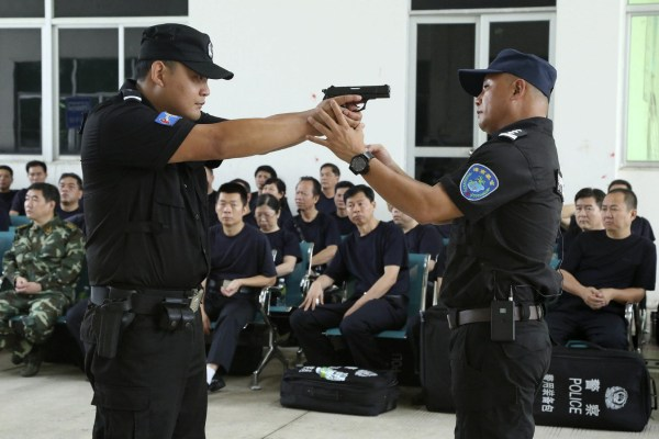 Police Officers Unarmed Training