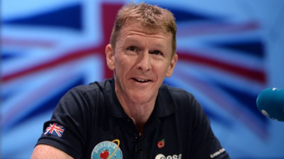 British astronaut Tim Peake will attempt to become the first man to run a marathon in space, as part of his 173-day mission to the International Space Station. Peake will run a digital version of next year's London Marathon on a treadmill as the ISS orbits the Earth, at the same time as more than 37,000 people run in the race on the ground.