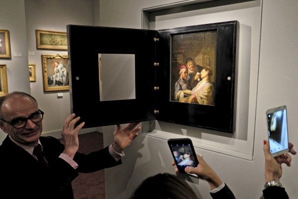 Rembrandt Painting Discovered Jersey Auction