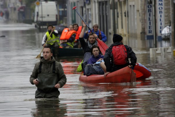 Photos of the Flood in Paris France June 2016