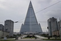 Pyramid-Shaped Hotels in North Korea