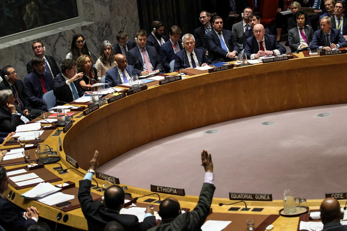 Un Security Council Rejects Russia S Call To Condemn U S Led Airstrikes In Syria