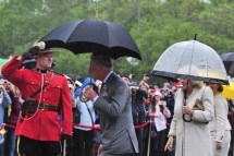 Royal Visit 2012 Prince Charles Collects Honorary Rcmp
