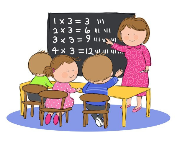 Kids Learning in Math Class Images