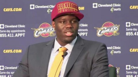 Anthony Bennett on being NBA first pick: 'I'm a great guy'