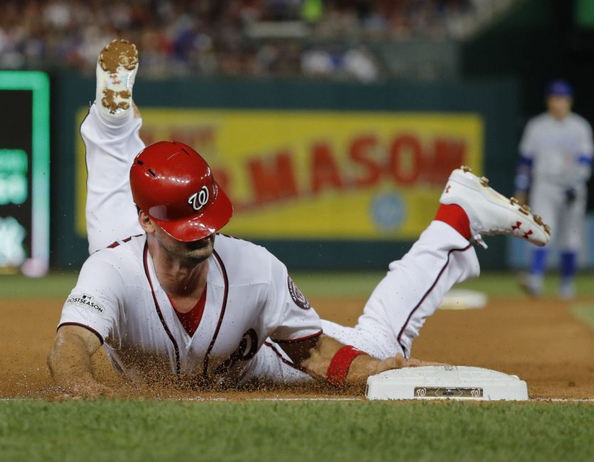 Nationals Rally To Beat Cubs And Tie NLDS Toronto Star