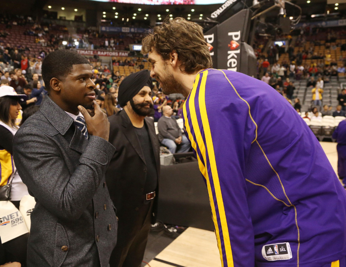 Pau Gasol trade rumours Raptors may be a destination with Lakers star out of starting lineup