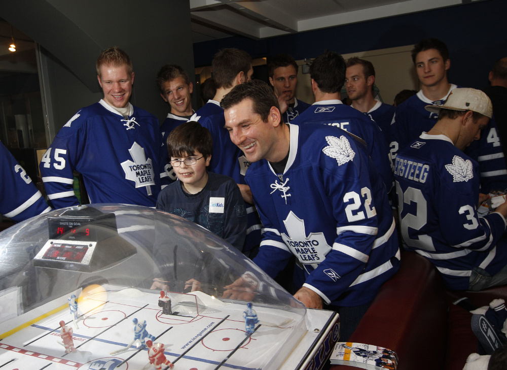 Photos Leafs visit Sick Kids hospital  The Star