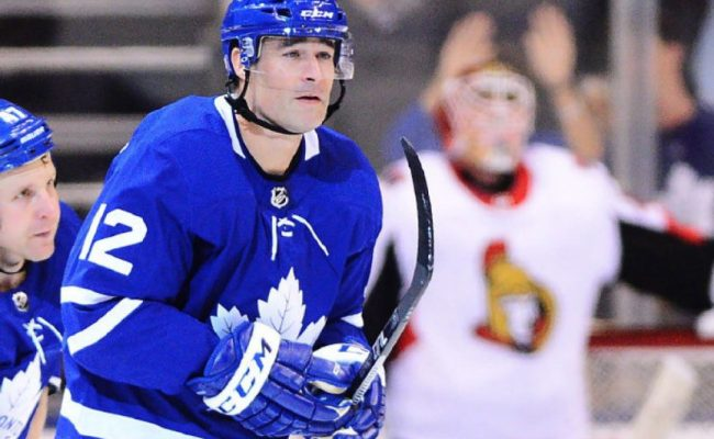 Patrick Marleau Heads Back To The Tank For The Memories