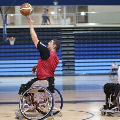 Wheelchair Olympics Stacking Chairs For Less Canadian Basketballer Adam Lancia Gears Up