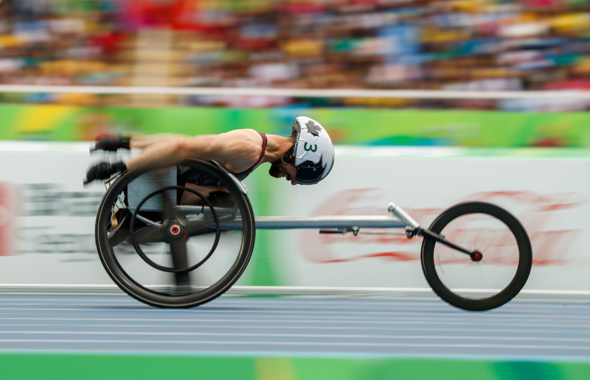 Canada races to pair of Paralympic silvers on the track