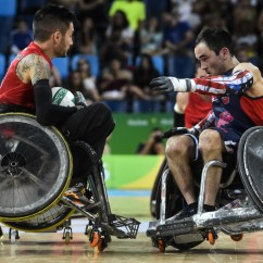 Wheelchair Olympics Childrens Wooden Table And Chairs Set Canadas Rugby Team To Play For Paralympics