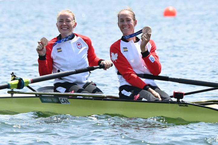 Canadian rowers Hillary Janssens, Caileigh Filmer go through agony for the  ecstasy of bronze | The Star