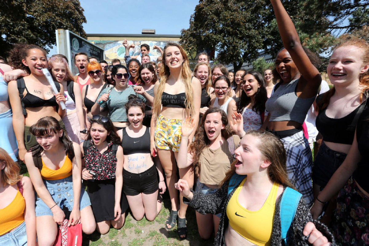 Toronto students organize Crop Top Day to protest dress codes  Toronto Star