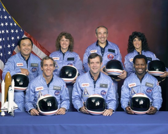 Crew of Challenger STS-51-L