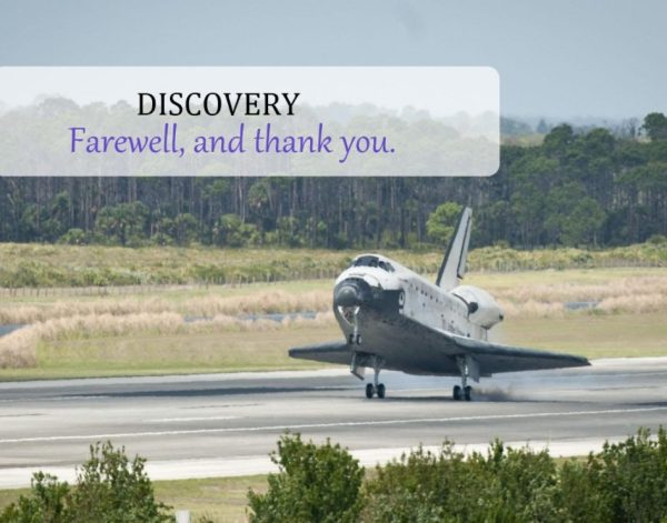Discovery's Final Landing