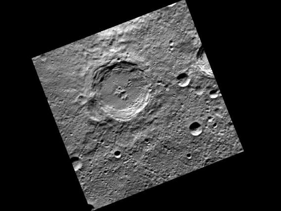 Dickens Crater