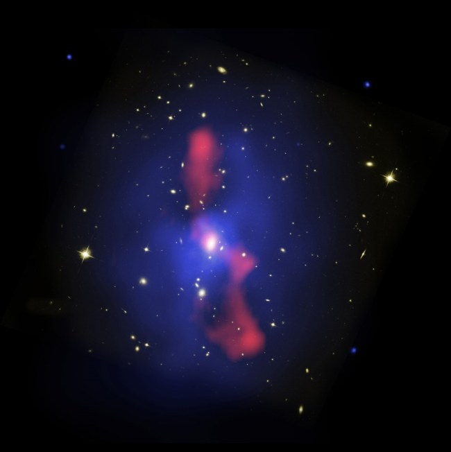 Galaxy Cluster MS 0735