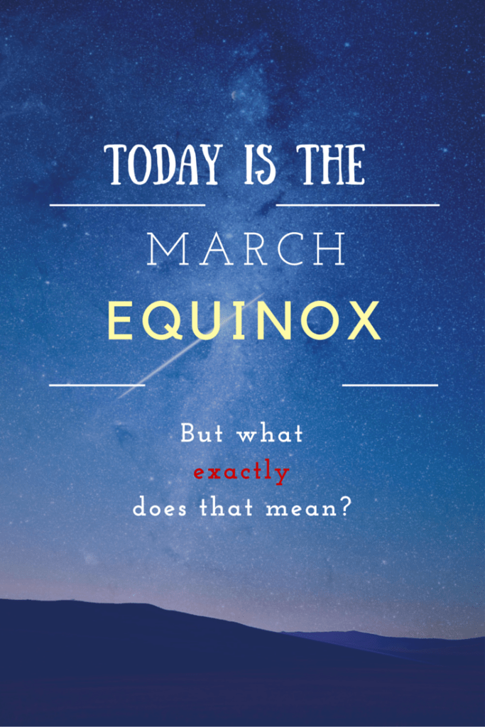 March Equinox graphic