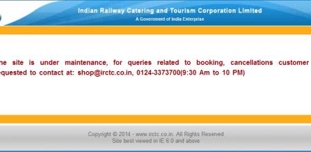 Did IRCTC Shut Down Its E-Commerce Portal