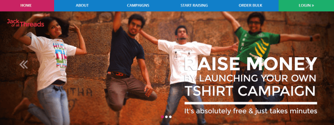 Jack Of All Threads – India's First Crowdfunding Platform For T-Shirts