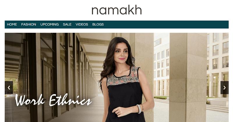 Namakh Women Clothing
