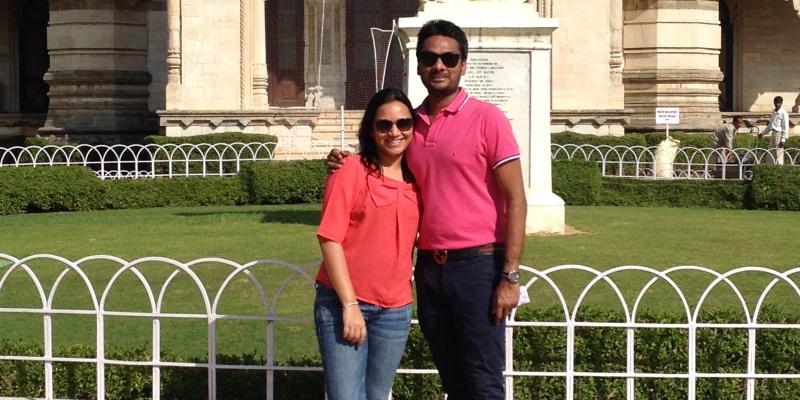 Atulit and Srinidhi, Co-founders, The Tea Shelf