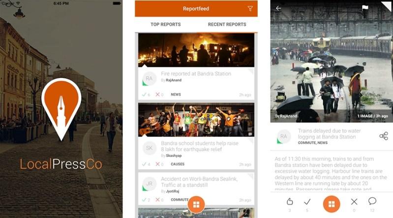 Local Press Co App Screenshots
