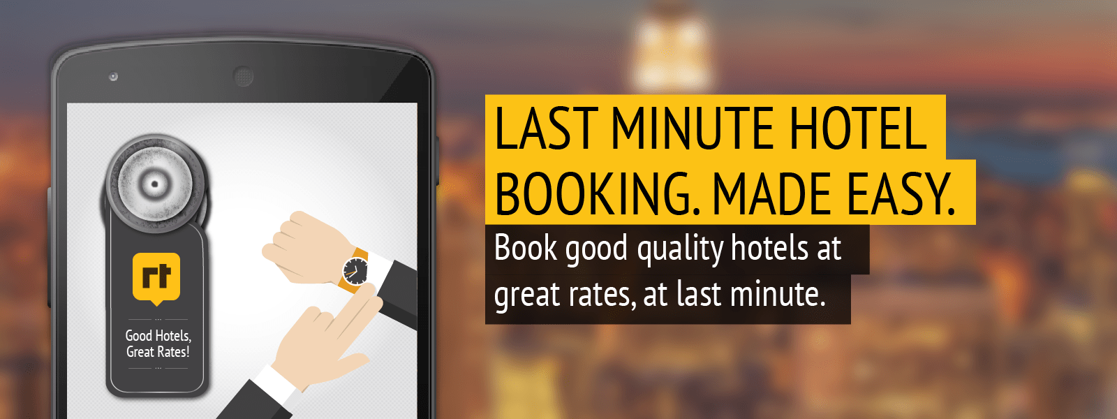 RoomsTonite Hotel Booking App