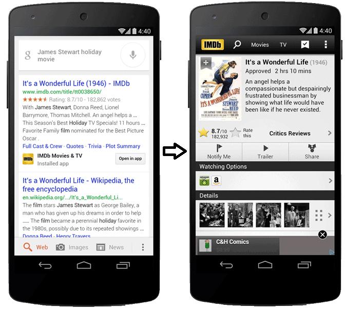 Google App Index