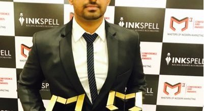 Dhruv after receiving award