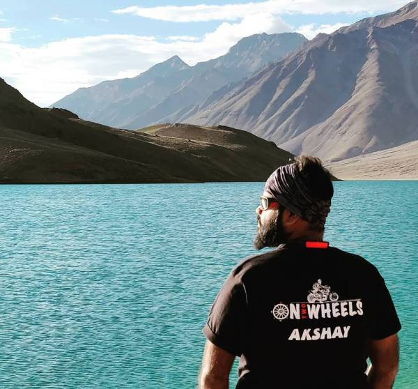 Meet the Founder of On Two Wheels: Akshay