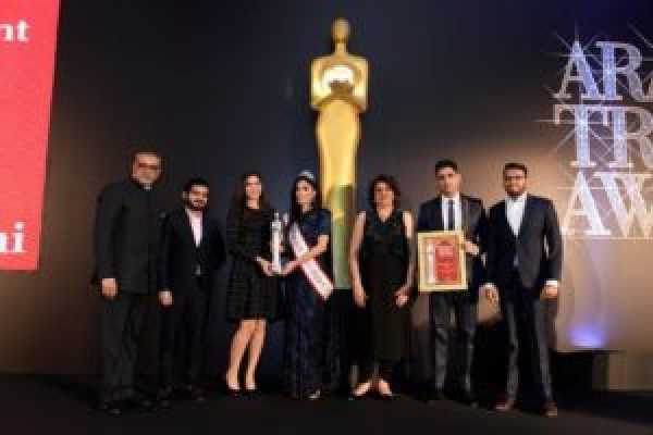 Rayna Tours at Arabian Travel Awards