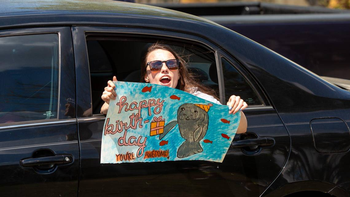 drive by birthday parties newest way to